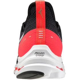 Mizuno Wave Rider Neo Scarpe Uomo, black/white/ignition red